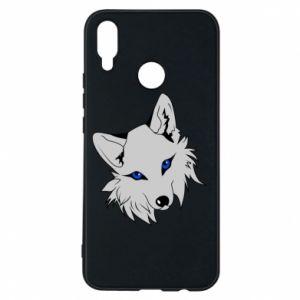 Phone case for Huawei P Smart Plus Gray fox