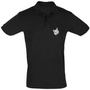 Men's Polo shirt Gray fox
