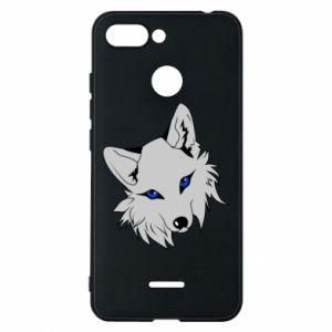 Phone case for Xiaomi Redmi 6 Gray fox