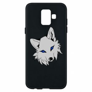 Phone case for Samsung A6 2018 Gray fox