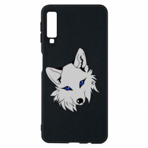Phone case for Samsung A7 2018 Gray fox