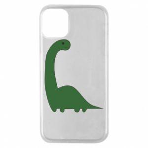 Etui na iPhone 11 Pro Green Dino