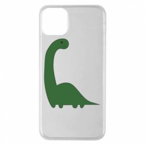 Etui na iPhone 11 Pro Max Green Dino