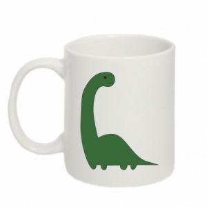 Kubek 330ml Green Dino