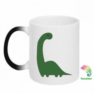 Kubek-kameleon Green Dino