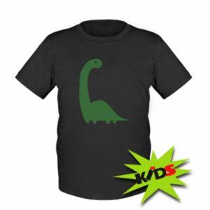 Kids T-shirt Green Dino