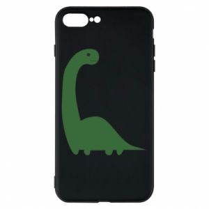 Etui na iPhone 7 Plus Green Dino