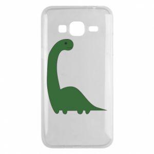 Etui na Samsung J3 2016 Green Dino