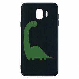 Etui na Samsung J4 Green Dino