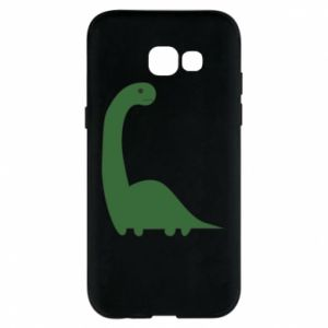 Etui na Samsung A5 2017 Green Dino