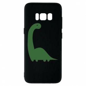 Etui na Samsung S8 Green Dino