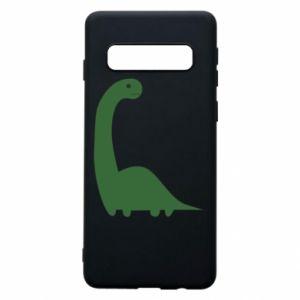 Etui na Samsung S10 Green Dino