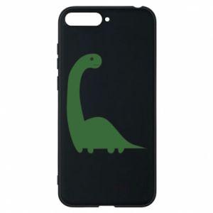 Etui na Huawei Y6 2018 Green Dino