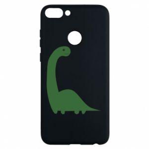 Etui na Huawei P Smart Green Dino