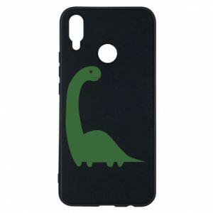 Etui na Huawei P Smart Plus Green Dino