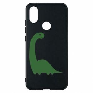 Etui na Xiaomi Mi A2 Green Dino
