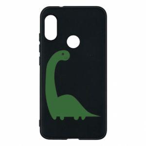 Etui na Mi A2 Lite Green Dino