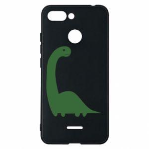 Etui na Xiaomi Redmi 6 Green Dino