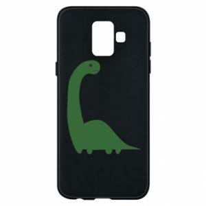 Etui na Samsung A6 2018 Green Dino