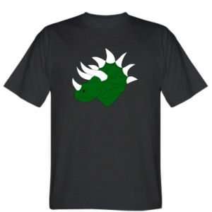 T-shirt Green dinosaur head - PrintSalon