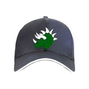 Cap Green dinosaur head