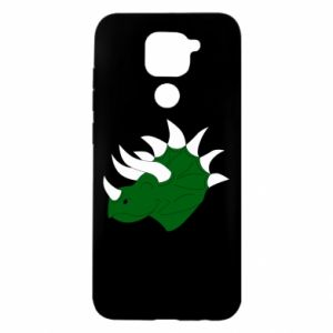 Xiaomi Redmi Note 9 / Redmi 10X case % print% Green dinosaur head