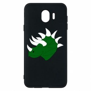 Phone case for Samsung J4 Green dinosaur head - PrintSalon