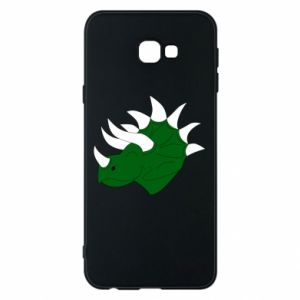 Phone case for Samsung J4 Plus 2018 Green dinosaur head - PrintSalon