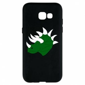 Phone case for Samsung A5 2017 Green dinosaur head - PrintSalon