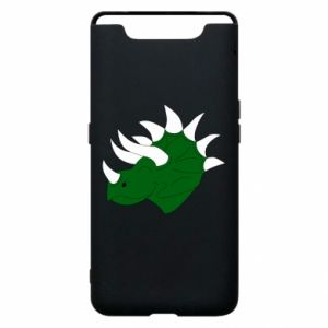 Phone case for Samsung A80 Green dinosaur head - PrintSalon