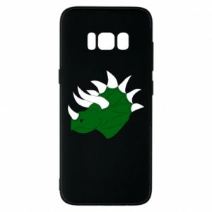 Phone case for Samsung S8 Green dinosaur head - PrintSalon