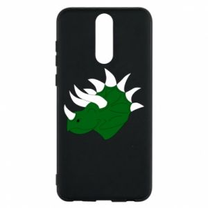 Phone case for Huawei Mate 10 Lite Green dinosaur head - PrintSalon