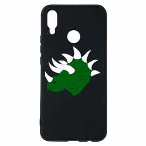Phone case for Huawei P Smart Plus Green dinosaur head - PrintSalon