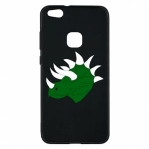 Phone case for Huawei P10 Lite Green dinosaur head - PrintSalon