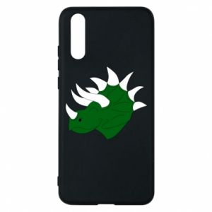 Phone case for Huawei P20 Green dinosaur head - PrintSalon
