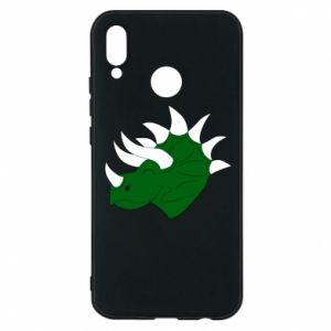 Phone case for Huawei P20 Lite Green dinosaur head - PrintSalon