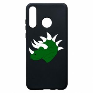 Phone case for Huawei P30 Lite Green dinosaur head - PrintSalon