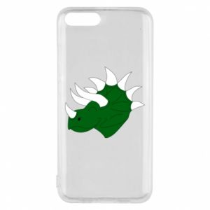 Phone case for Xiaomi Mi6 Green dinosaur head - PrintSalon