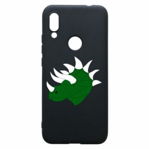 Phone case for Xiaomi Redmi 7 Green dinosaur head - PrintSalon