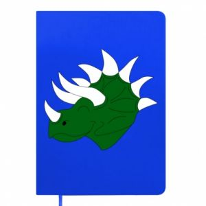 Notepad Green dinosaur head - PrintSalon
