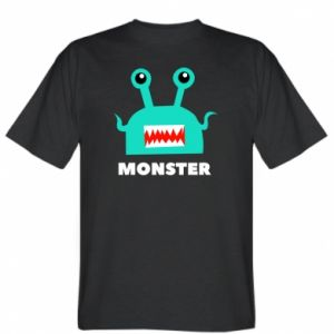T-shirt Green monster