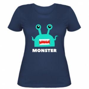 Women's t-shirt Green monster