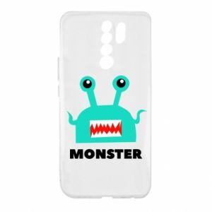 Xiaomi Redmi 9 Case Green monster