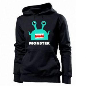 Women's hoodies Green monster