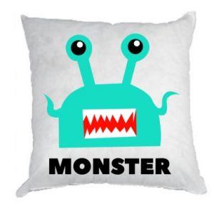 Poduszka Green monster