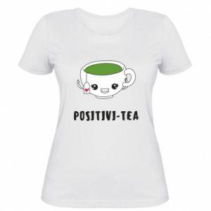 Damska koszulka Green positivi-tea