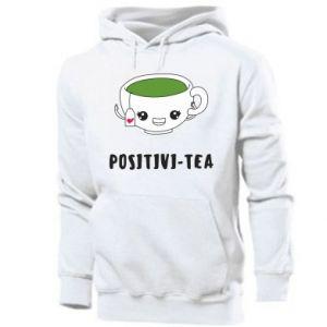 Men's hoodie Green positivi-tea