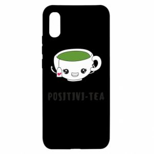 Etui na Xiaomi Redmi 9a Green positivi-tea
