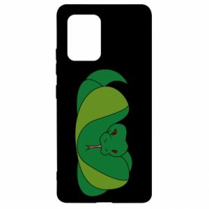 Etui na Samsung S10 Lite Green snake