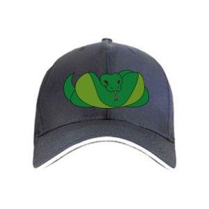 Cap Green snake
